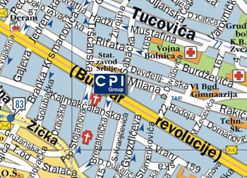 bulevar kralja aleksandra mapa Kontakt   CPI Group   Beograd bulevar kralja aleksandra mapa
